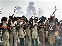 Re-enactment of Battle of Jena