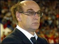 French coach Patrice Neveu