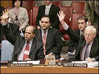 Miembros del Consejo de Seguridad de la ONU