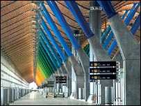 New Area Terminal, Barajas Airport, Madrid