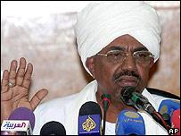 Sudan's President Omar al-Bashir - 25 Sept, 2006