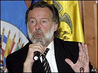 Rafael Bielsa, observador en jefe de la OEA