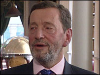 David Blunkett MP, former Home Secretary