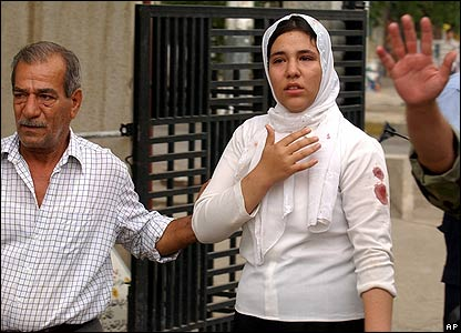 Woman injured in bombing in Kirkuk, 15 October 2006