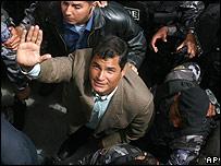 Rafael Correa, candidato presidencial