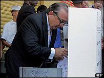 Álvaro Noboa, candidato presidencial