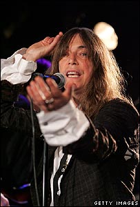 Patti Smith performs in the club