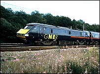 GNER Class 91 locomotive