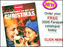 Catalogue detail from Farepak website