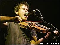 Folk singer Seth Lakeman