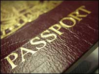 UK passport, BBC
