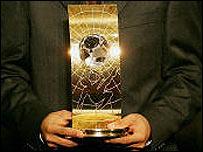 Premio Mejor Jugador Mundial. Foto: sitio de la de FIFA en la web.