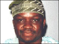 Impeached governor of Ekiti State, Nigeria