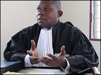 Judge Philippe Vokayandiki Mbumba