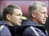 Peter Grant and Alan Pardew