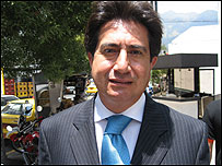 Juan Carlos Torres, visitador médico.