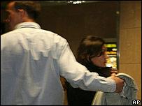 Woman said to be carrying David Banda through Johannesburg Airport