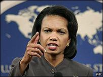 Condoleezza Rice.
