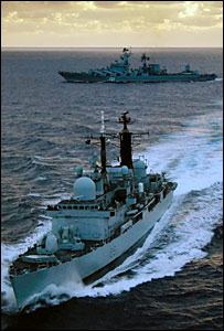 Warships (Pic: Ministry of Defence)