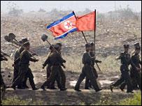 Soldados norcoreacoreanos