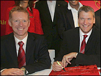 Andy Anson and David Gill
