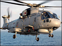 Merlin helicopter (Pic: Ministry of Defence)