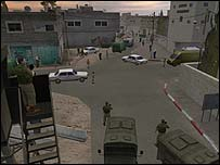Street scene from Global Conflict: Palestine