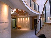 The interior of the Pines Calyx centre
