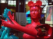 Dancing robots, Eric Ishii Eckhardt