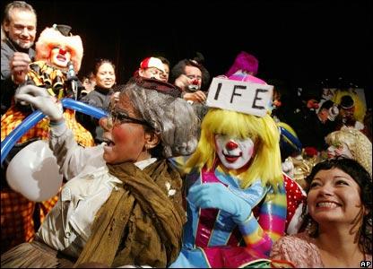 Female clowns