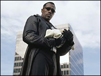 Wesley Snipes in Blade: Trinity