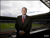 SRU chief executive Gordon McKie at Murrayfield