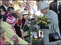 Queen Elizabeth II in Lithuania