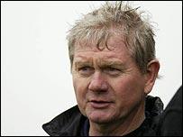 Derry football boss Paddy Crozier