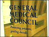 General Medical Council plaque