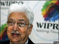 Wipro boss Azim Premji