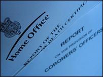 Coroners' report