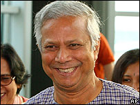 Muhammad Yunus arrives in South Korea on Wednesday to collect another award