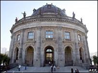 Exterior of Berlin's Bode Museum