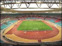 The Rades Stadium in Tunis