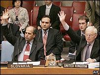 UN Security Council vote on sanctions for North Korea