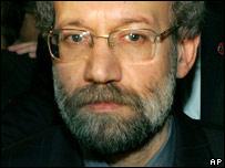 Iran's nuclear negotiator Ali Larijani