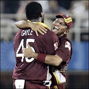 Chris Gayle and Ramnaresh Sarwan