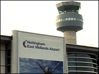 East Midlands Airport - Nottingham, Leicester, Derby
