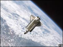 US space shuttle Atlantis. File photo