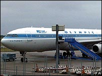 Olympic Airways plane