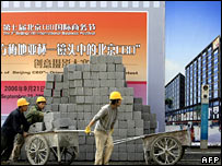 Builders in China