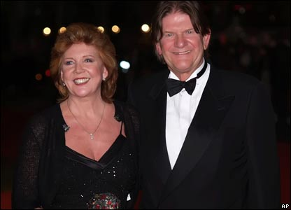 Cilla Black and John Madjeski