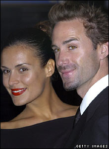 Maria Dolores and Joseph Fiennes