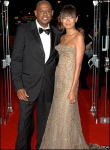 Forest Whitaker and wife Keisha